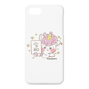 令和ゆめかわユニコーンちゃんiPhoneケース/ぴんく