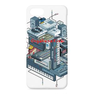 iPhoneケース - iPhone7 ドット絵DTM機材