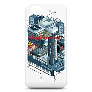 iPhoneケース - iPhone6 ドット絵DTM機材