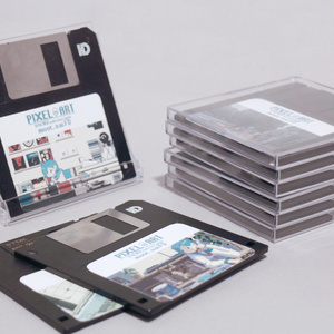 【PixelArtPark4】GIFデータ入りフロッピーディスク 一枚