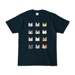 モフニャンTシャツ(濃)