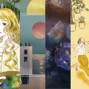 【夢の三部作】insomniadorn / narcolepsyard  set