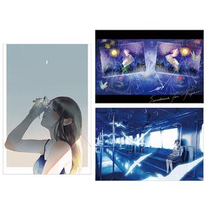 "postcard  set "" storyteller "" [3枚組]"