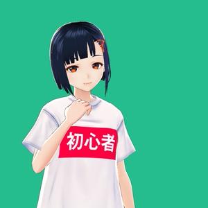 【VRoid衣装】初心者Tシャツ