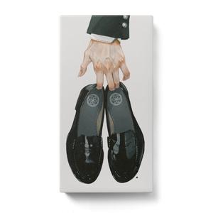 モバイルバッテリー(手と靴)
