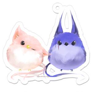 ネコミミ鳥アクキー