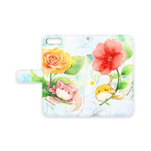 ケモミミ鳥×オカメインコ iPhoneケース
