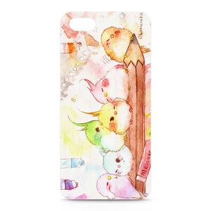 水彩鳥のiPhoneケース 5・5S