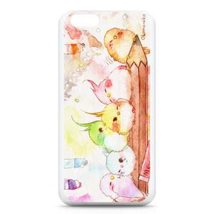 水彩鳥のiPhoneケース 6