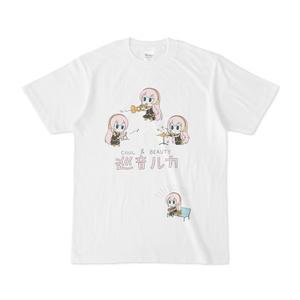 COOL & BEAUTY 巡音ルカTシャツ
