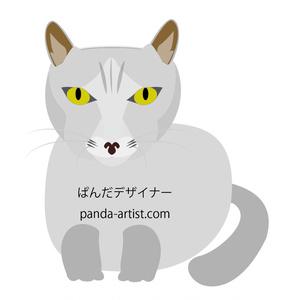 キャッチ画像『ミーコ』:EPS・PNG・JPGの3点!素材セット