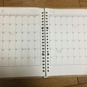 フリーマンスリーリフィルデータ(A5ルーズリーフ用)