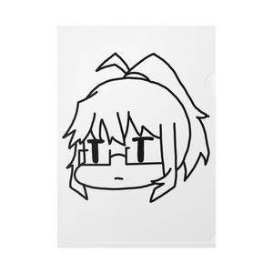 呪詛用青北(クリアファイル)
