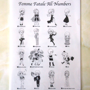 Femme Fatale クリアファイル