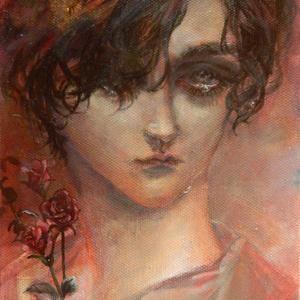 「薔薇」原画