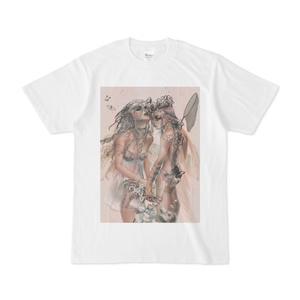 「白」Tシャツ