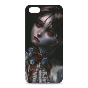 「青薔薇」iPhoneケース