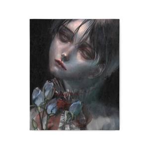 「青薔薇」キャンバスプリント