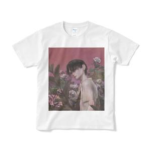 「pink」Tシャツ短納期白