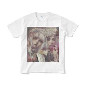「maid」Tシャツ短納期白