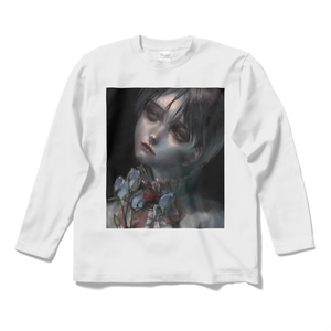 「青薔薇」ロングスリーブTシャツ