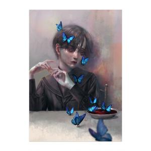 「蝶」ポスター