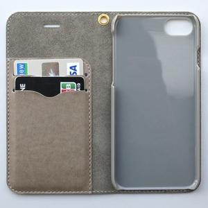 【受注生産】たそがれキズねこ 手帳型iPhone6/6sケース【送料込み】