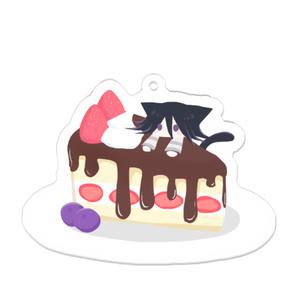 王馬のケーキキーホルダー