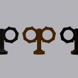 【3Dモデル】スチームパンク形 ゼンマイ Key Clockwork