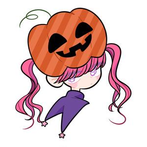 トートバッグ かぼちゃおばけ