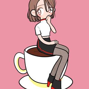 ポストカード-コーヒー