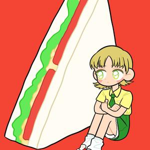 ポストカード-サンドイッチ