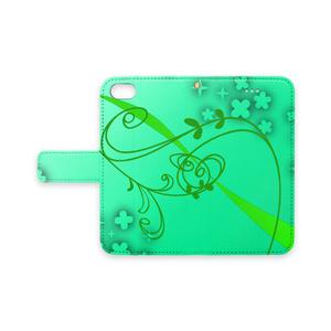 「緑鮮やか植物」iPhone7/8対応ケース