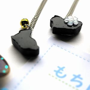黒猫のネックレス