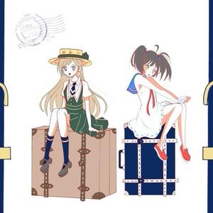 ポストカードセット(青)