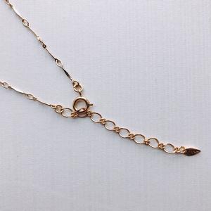 甘毳モチーフ 柘榴と髑髏のネックレス