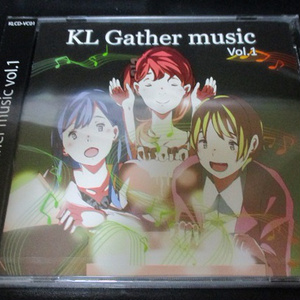 KL Gather music Vol.1(特典CD付き)