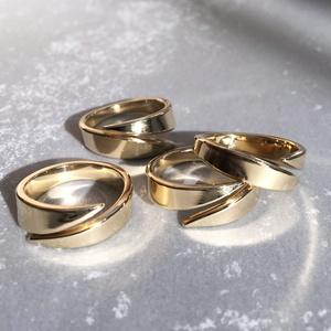 〈流転の輪〉真鍮リング