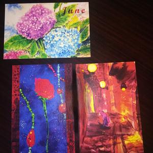 【雑貨】オリジナルポストカード3枚セット
