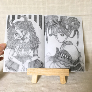 鉛筆画コピー本