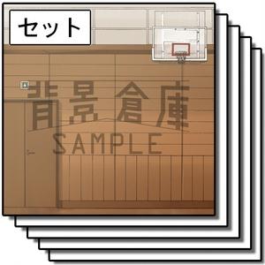 カラー背景集_セット6(学校)