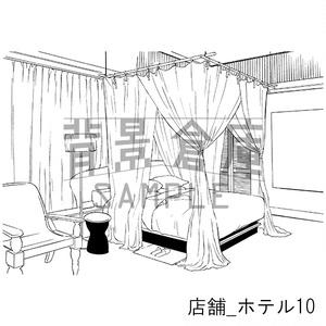 店舗の背景集_セット7(ホテル)