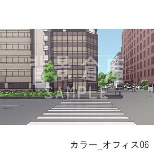 カラー背景集_セット14(オフィス)