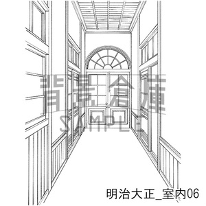 明治大正の背景集_セット7(室内)