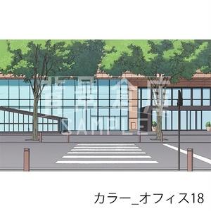 カラー背景集_セット16(オフィス)