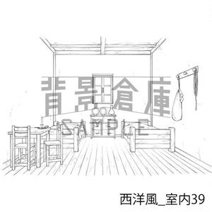 西洋風の背景集_セット15(室内)