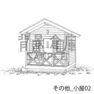 その他の背景集_セット2(小屋)