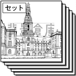 西洋風の背景集_セット9(城)_高解像度版