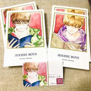 ポストカード・2枚組 全4種