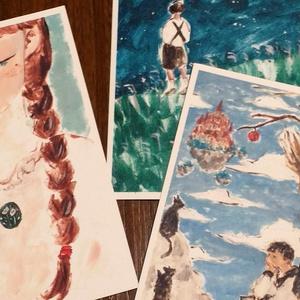 「銀河鉄道の夜」ポストカード